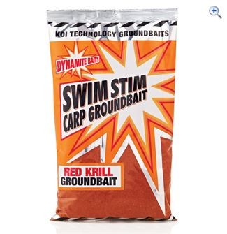 Dynamite Swim Stim Red Krill Carp Groundbait