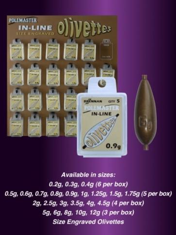 Drennan Engraved Olivettes In-Line