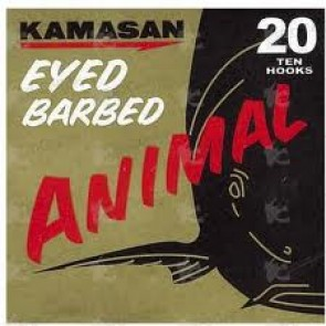 KAMASAN ANIMAL EYED BARBED HOOKS