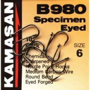 KAMASAN B980 Eyed Specimen hooks